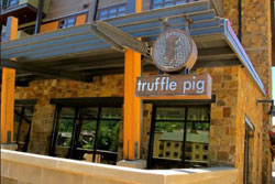 truffle pig pet friendly restaurant in steamboat springs, co